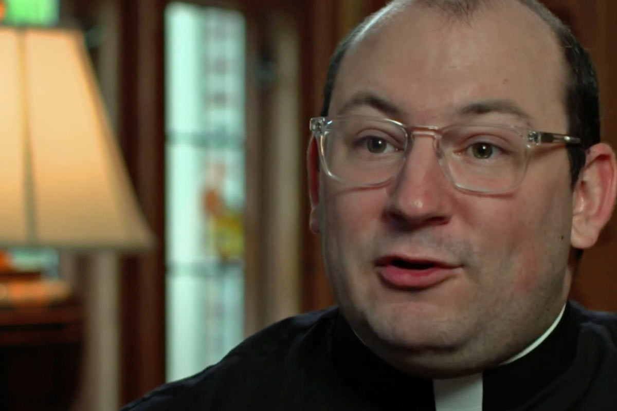 Fr. Ryan Adorjan testimonial video on his experience in Catholic Studies.