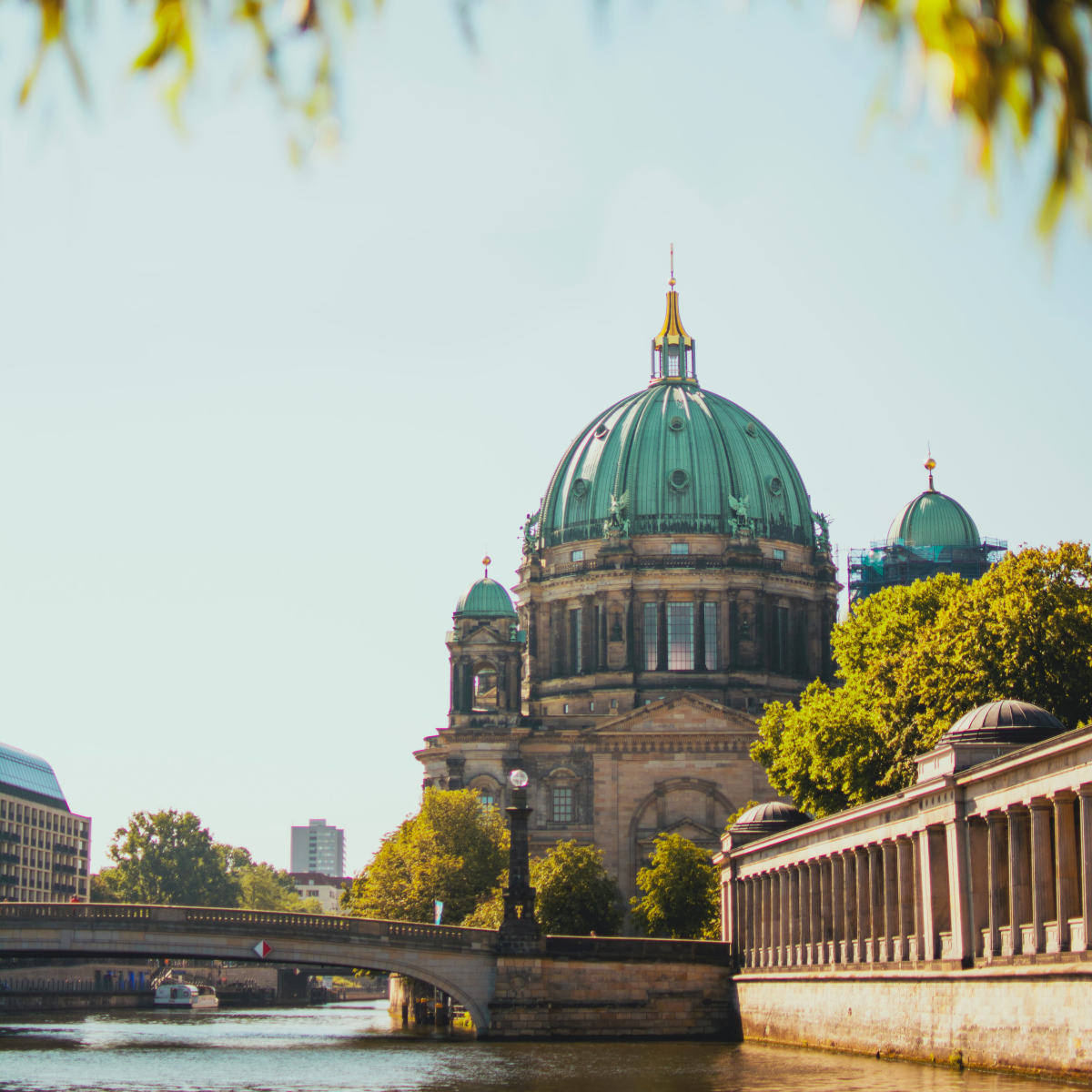 Stock image of a cathedral located in Berlin, Germany.